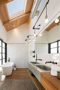930 best images about salle de bain on pinterest coins With carrelage adhesif salle de bain avec suspension luminaire led