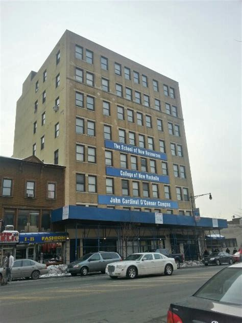 college   rochelle building  melrose sold