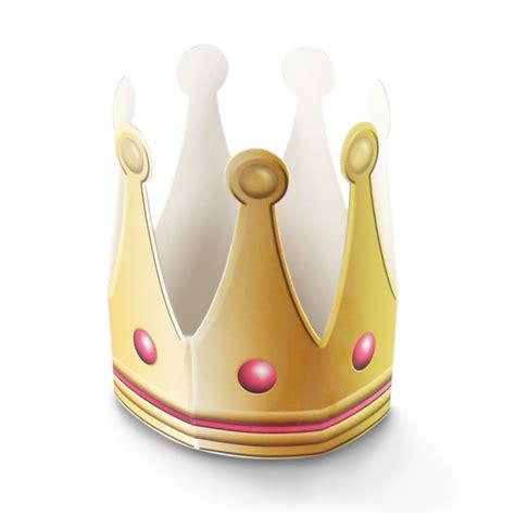 krone prinzessin gold