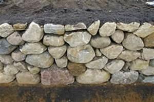 Trockenmauer Bauen Ohne Fundament : friesenwall bauen bepflanzung kosten ~ Lizthompson.info Haus und Dekorationen