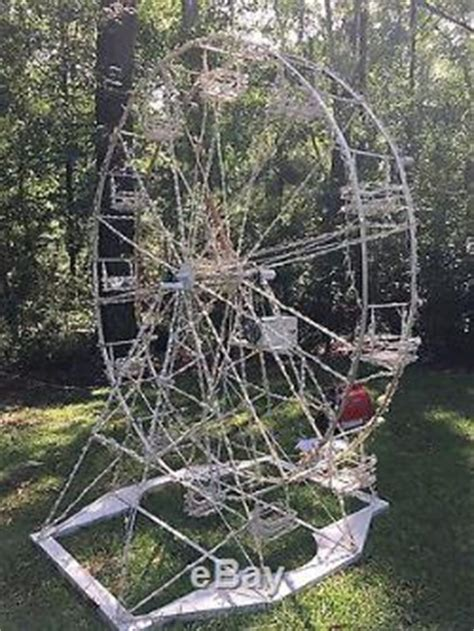 custom  outdoor christmas ferris wheel motorized