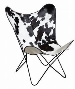 Fauteuil Peau De Vache : fauteuil butterfly en peau de vache ~ Teatrodelosmanantiales.com Idées de Décoration