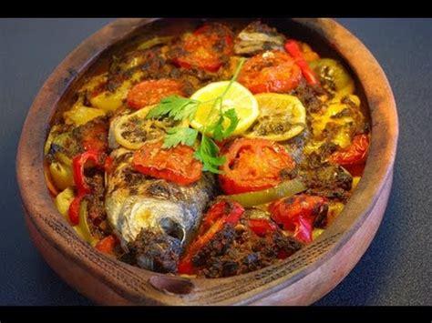 cuisiner le maigre au four recette marocaine de poisson au four moroccan baked fish