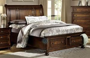 Cumberland, King, Platform, Storage, Bed, From, Homelegance, 2159k
