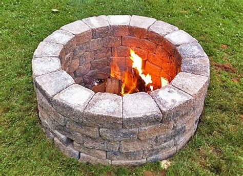 building a pit build your own outdoor pit planitdiy