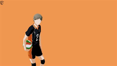 haikyu koshi sugawara  hd anime wallpapers hd