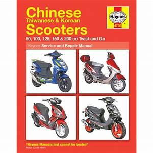 Haynes Chinese Scooter Service  U0026 Repair Manual 4768