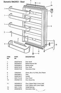 Refrigerator Part Schematic