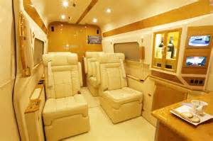 Mercedes Sprinter Luxury Van Interior