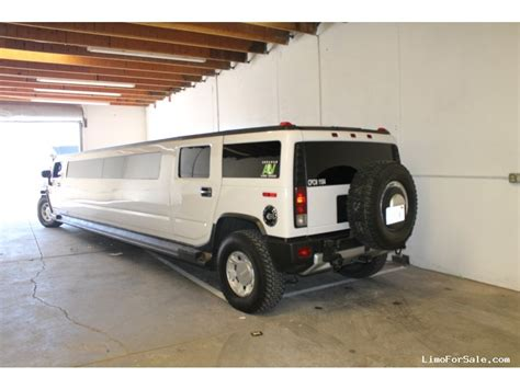 Used 2008 Hummer H2 Suv Stretch Limo