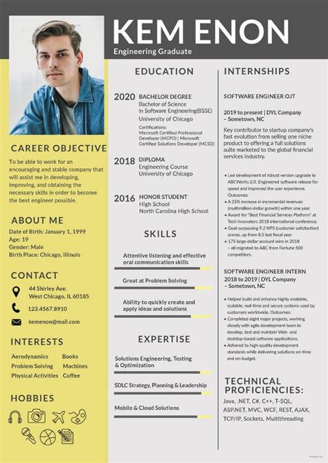 resume format word   premium templates