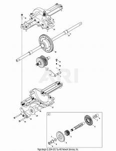 Mtd 13ac76lf055  2011  Parts Diagram For Transmission