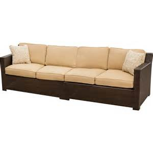 sofa outdoor metropolitan 2 outdoor wicker sofa set hanover metro2pc