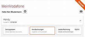 Mein Vodavone De Rechnung : hilfe online rechnung rechnung ~ Themetempest.com Abrechnung
