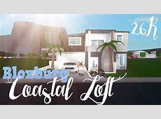 Bloxburg Coastal Starter Loft 26K YouTube