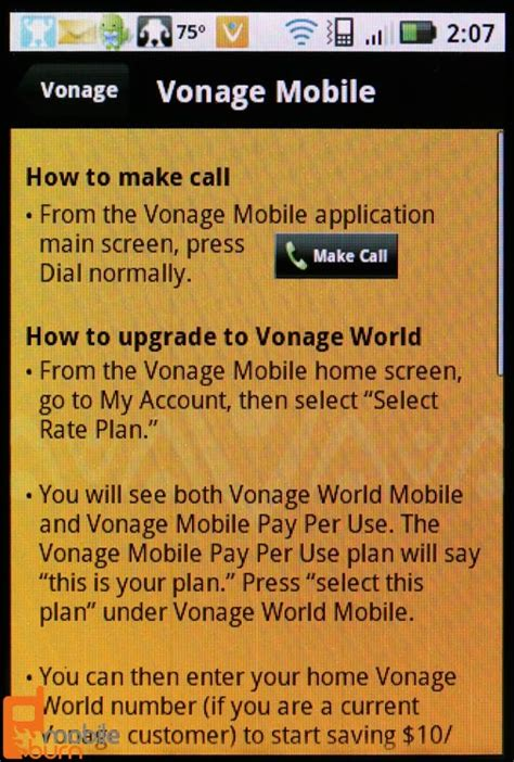 vonage phone number free domestic wi fi calling with vonage mobile android