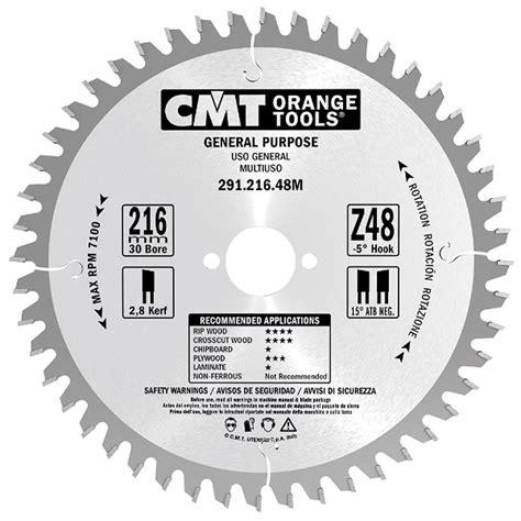 cmt  blade      combination blade carbatec