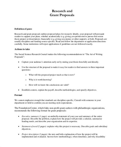 sample research proposal  examples   word