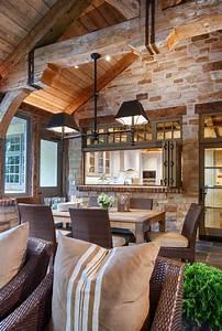15, Elegant, Rustic, Dining, Room, Interior, Designs, For, The