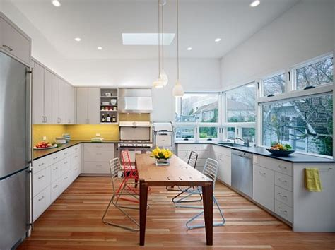 Yellow Backsplash Kitchen : Buttercream Isn't Just For Baking