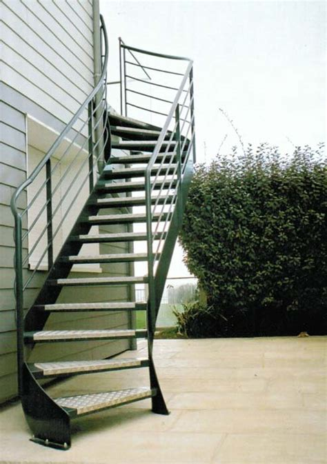 escalier fer forge manche calvados ille et vilaine realisation pose