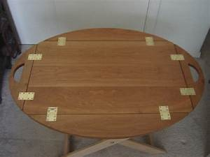 'Butler's Tray' Coffee Table and Portable Bar