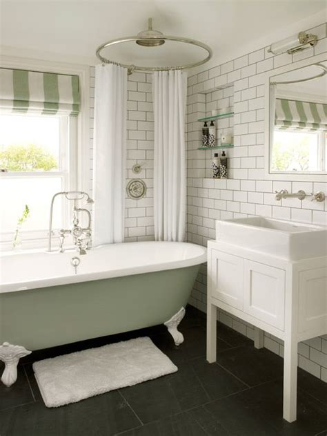 Clawfoot Tub Shower Curtain Ideas - clawfoot tub separate shower home design ideas pictures