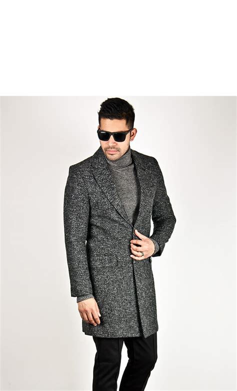 outerwear sold out comb pattern wool slim two button