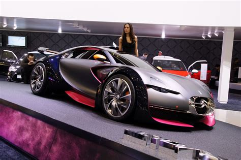 citroen survolt car citroen survolt sports car concept debuts at 2010