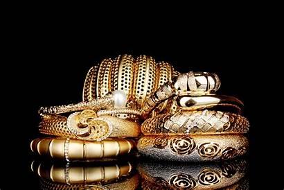 Gold Background Diamonds Rings Bracelet Wallpapers Diamond