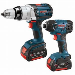 Shop Bosch 2-Tool 18-Volt Cordless Combo Kit at Lowes.com