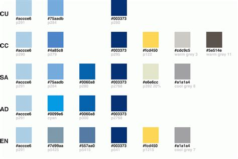 columbia colors columbia web color guide columbia college information