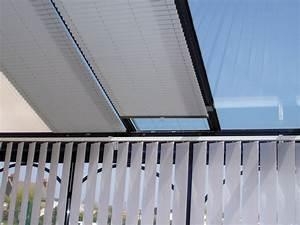 Rideau De Toit Pour Veranda : batistore store pliss toiture de v randa ~ Melissatoandfro.com Idées de Décoration