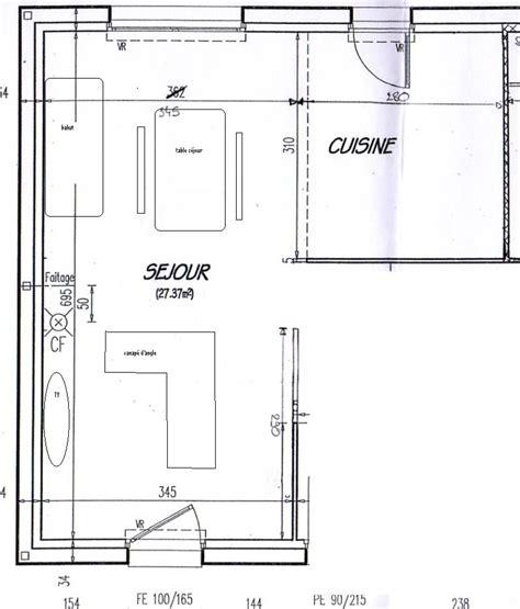 bahut de cuisine aménagement salon salle à manger