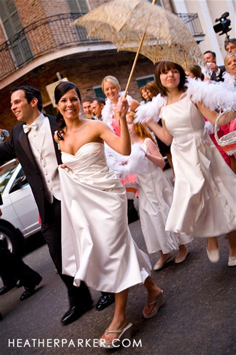 New Orleans Wedding Photographer And Second Line Parades