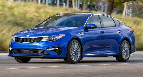 2019 Kia Optima Minor Facelift Brings Infotainment And