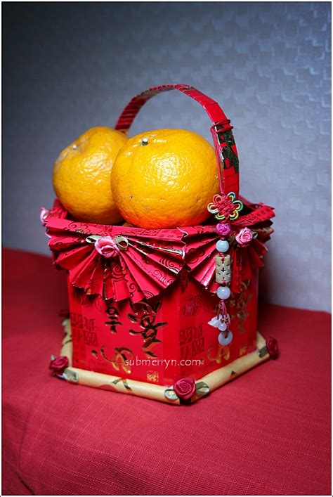 Diy Chinese New Year Angpow Basket « Home Is Where My