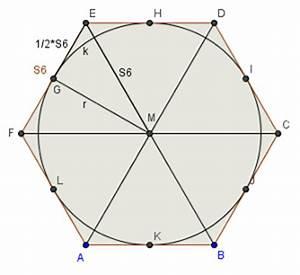 Fläche Sechseck Berechnen : 0910 unterricht mathematik 9a figuren und koerper ~ Themetempest.com Abrechnung