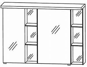 Spiegelschrank Bad 100 Cm Breit : puris linea spiegelschrank 100 cm breit s2a42l1s1 badm bel 1 ~ Eleganceandgraceweddings.com Haus und Dekorationen