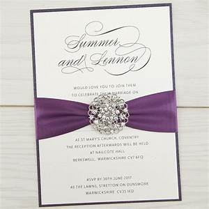 violet parcel pure invitation wedding invites With wedding invitations with engagement pictures