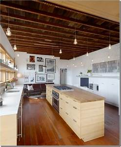 Amazing exposed beams and lighting kitchens