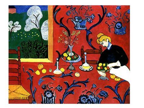 henri matisse la desserte photo de peinture maturita z francouzštiny