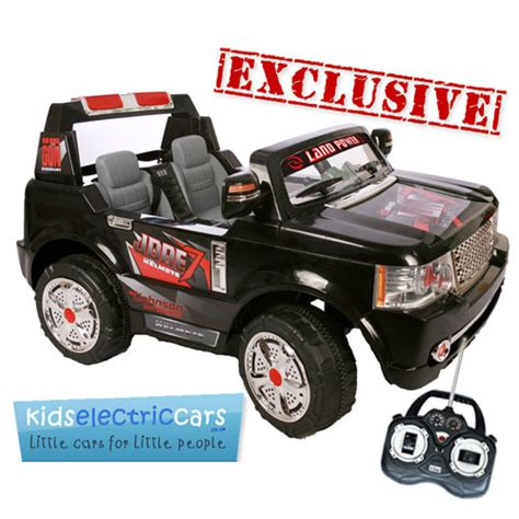 2 seater ride on car with parental remote canada 24v black large 2 seat range rover style ride on jeep