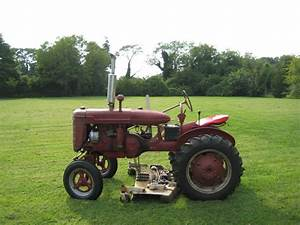Farmall A Woods Belly Mower