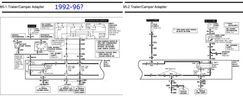 Radio Wire Diagram For 1992 F150 by Trailer Tow Package And Trailer Wiring Questions Ford