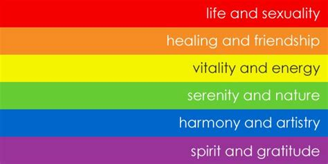 rainbow colors   meaning colors  flag