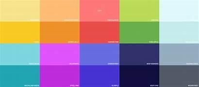 Flat Colors Ui Material Siam