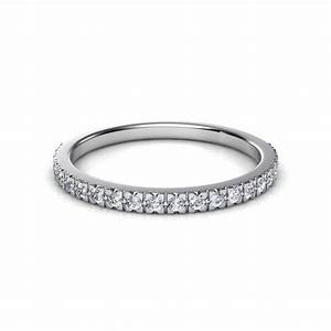 022 Ct French Cut Pav Diamond Wedding Band Natalie Diamonds