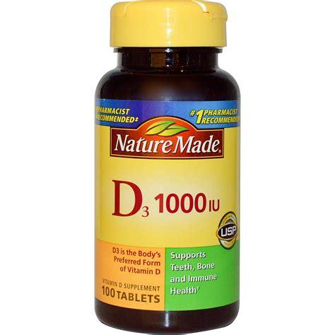 vitamin d l reviews nature made d3 vitamin d supplement 1000 iu 100