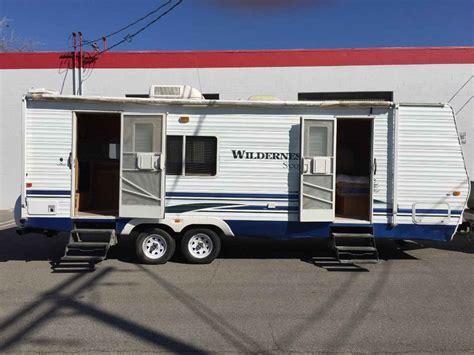 fleetwood wilderness scout travel trailer